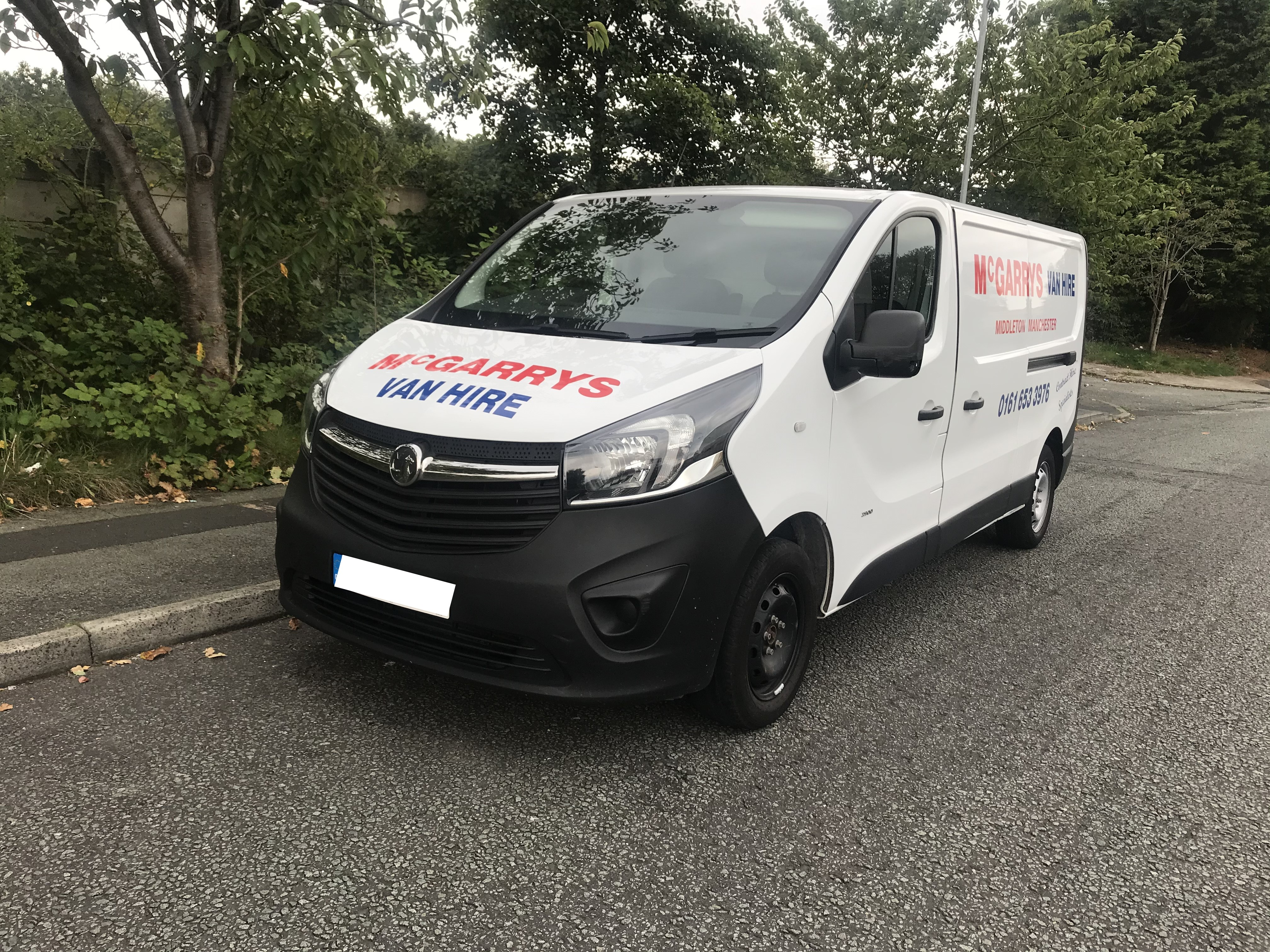 MWB low and semi high roof van for hire in Middleton