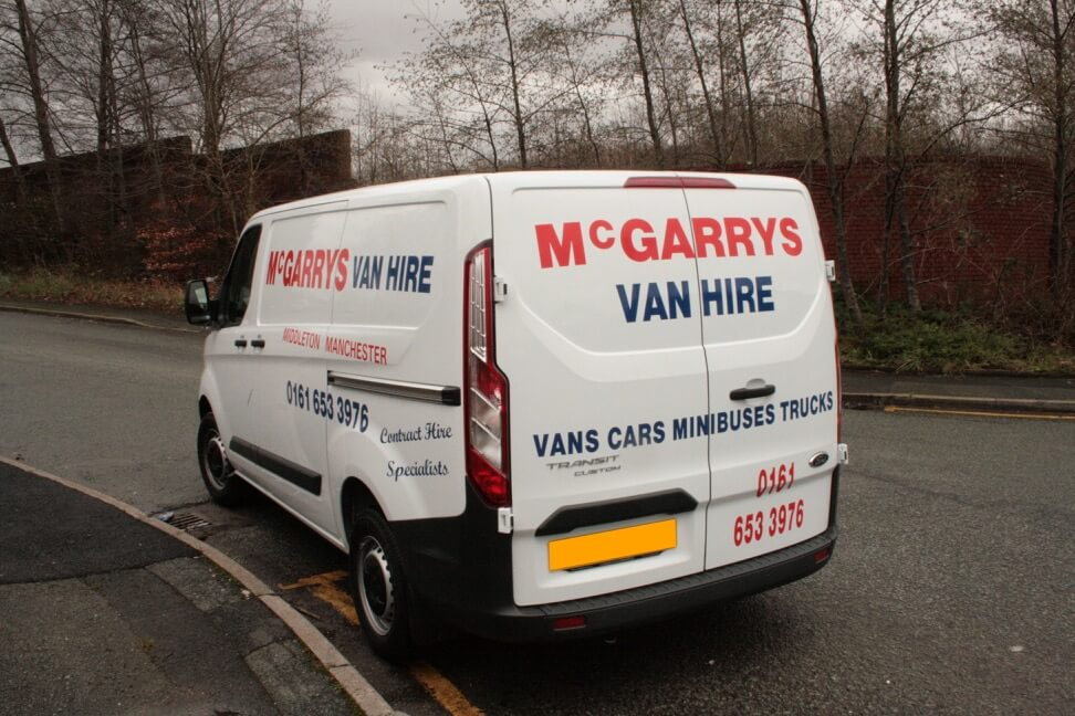 Transit Style (SWB) low and semi high roof van for hire