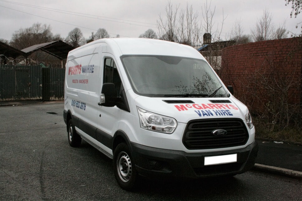 Transit Style (LWB) van for hire in Middleton